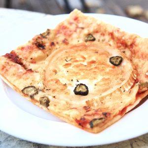Pica veģetārā ar kazas piena sieru
